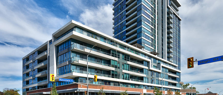 North Shore Condos at 1 Hurontario Street in Port Credit, Mississauga