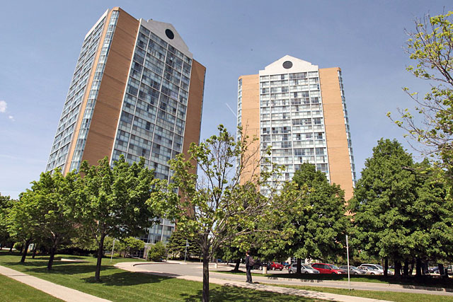 Anaheim Towers at 25 and 35 Trailwood Drive, Mississauga