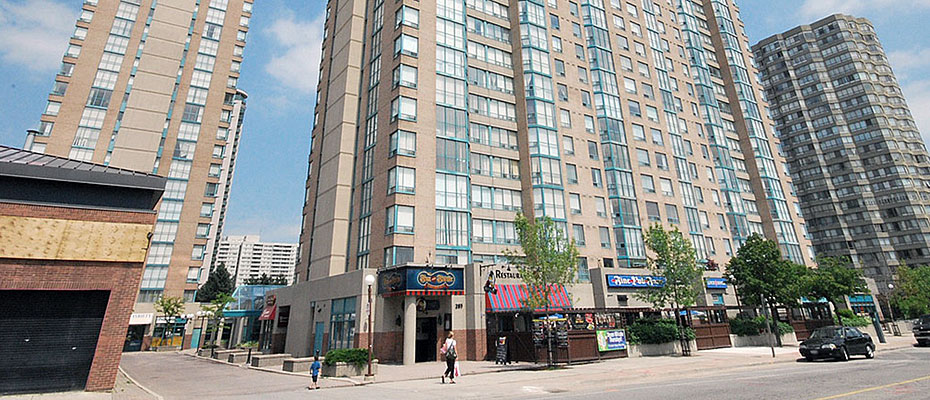 Enfield Place Condos at 265 and 285 Enfield Place in Square One Mississauga