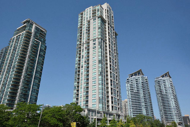Eden Park Condos in Square One at 3504 Hurontario Street, Mississauga