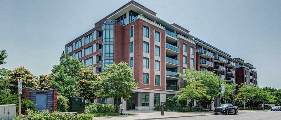 The Regatta Condos at 65 Port Street East in Port Credit, Mississauga
